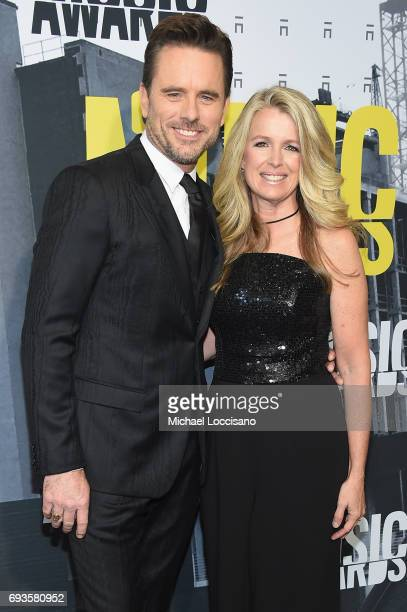 Actor Charles Esten and Patty Hanson attend the 2017 CMT Music Awards at the Music City Center on June 7 2017 in Nashville Tennessee