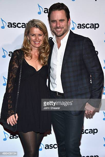 Actor Charles Esten and Patty Hanson attend the 53rd annual ASCAP Country Music awards at the Omni Hotel on November 2 2015 in Nashville Tennessee