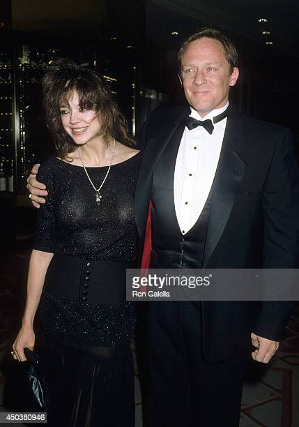 Actor Charles Haid and wife Deborah Richter attend the Jewish National Fund's Tree of Life Award Salute to Brandon Tartikoff on December 11 1986 at...