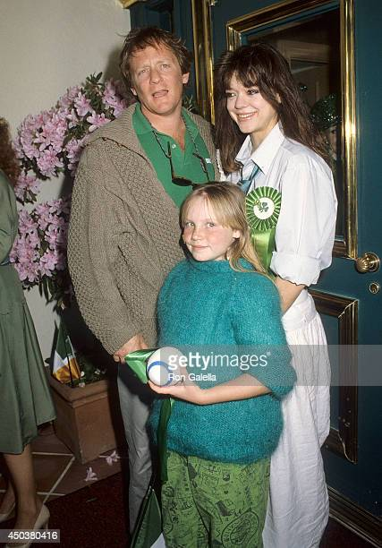 Actor Charles Haid wife Deborah Richter and his daughter Brittany attend the First Annual Beverly Hills St Patrick's Day Parade Celebrity Brunch on...