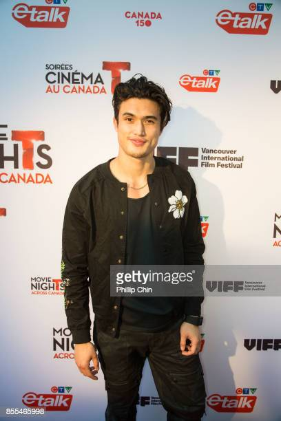 Actor Charles Melton attends the Opening Night Gala Red Carpet during the 36th Annual Vancouver International Film Festival at The Centre In...