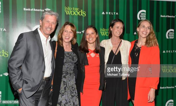 """Actor Charles Shaughnessy and guests attend the opening night of Fiasco Theater's Production of """"Into the Woods"""" at Ahmanson Theatre on April 5, 2017..."""