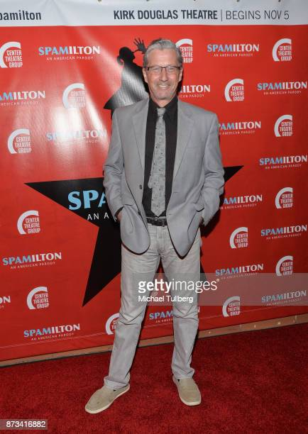 """Actor Charles Shaughnessy attends the opening night of """"Spamilton"""" at Kirk Douglas Theatre on November 12, 2017 in Culver City, California."""