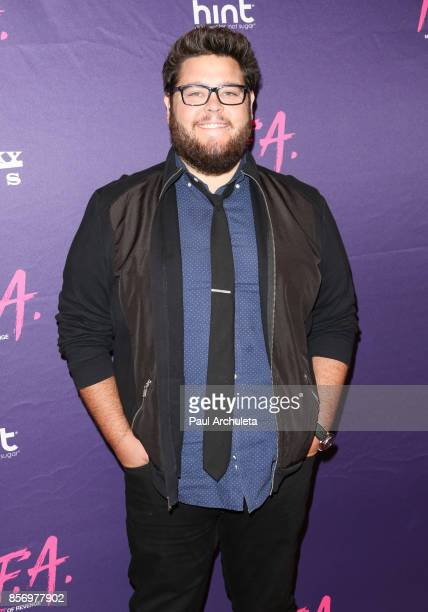 Actor Charley Koontz attends the premiere of Dark Sky Films' 'MFA' at The London West Hollywood on October 2 2017 in West Hollywood California