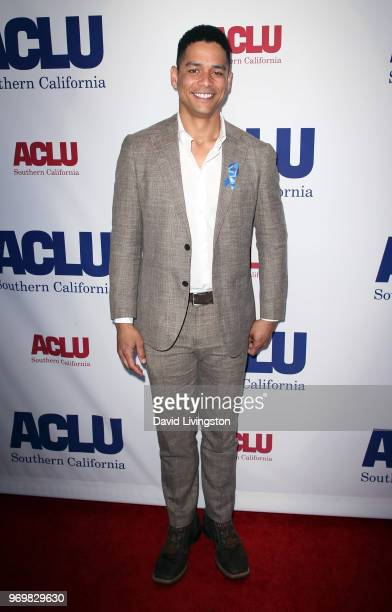 Actor Charlie Barnett attends the ACLU SoCal Annual Luncheon at JW Marriott Los Angeles at LA LIVE on June 8 2018 in Los Angeles California