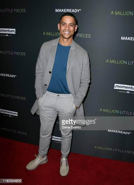 """Actor Charlie Barnett attends the special screening of Momentum Pictures' """"A Million Little Pieces"""" at The London Hotel on December 04, 2019 in West..."""