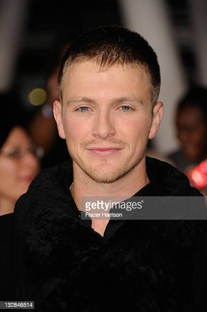 Actor Charlie Bewley arrives at Summit Entertainment's The Twilight Saga Breaking Dawn Part 1 premiere at Nokia Theatre LA Live on November 14 2011...