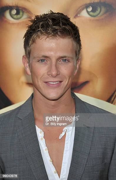 Actor Charlie Bewley arrives at the Letters To Juliet Los Angeles Premiere at Grauman's Chinese Theatre on May 11 2010 in Hollywood California