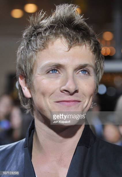 Actor Charlie Bewley arrives at the Los Angeles Premiere jkThe Twilight Saga New Moon at Mann Bruin Theatre on November 16 2009 in Westwood California