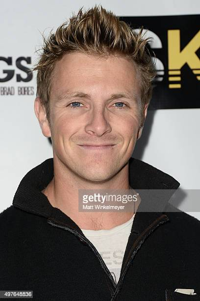 Actor Charlie Bewley arrives at the premiere of Something Kreative's When the Bell Rings at Fox Studios on November 17 2015 in Los Angeles California