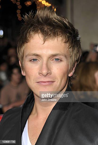 Actor Charlie Bewley arrives at The Twilight Saga New Moon premiere held at the Mann Village Theatre on November 16 2009 in Westwood California