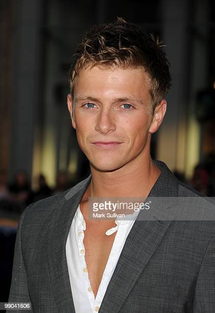Actor Charlie Bewley arrives for the Los Angeles premiere of Letters To Juliet at Grauman's Chinese Theatre on May 11 2010 in Hollywood California