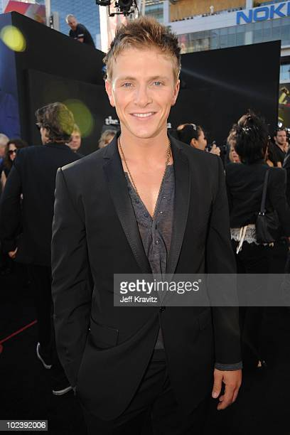 Actor Charlie Bewley arrives to the premiere of Summit Entertainment's The Twilight Saga Eclipse during the 2010 Los Angeles Film Festival at Nokia...