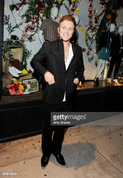 Actor Charlie Bewley attend the Shipley Halmos event at Confederacy on March 18 2010 in Los Angeles California