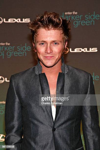 Actor Charlie Bewley attends the Darker Side of Green Climate Change Debate at Skylight West on March 30 2010 in New York City