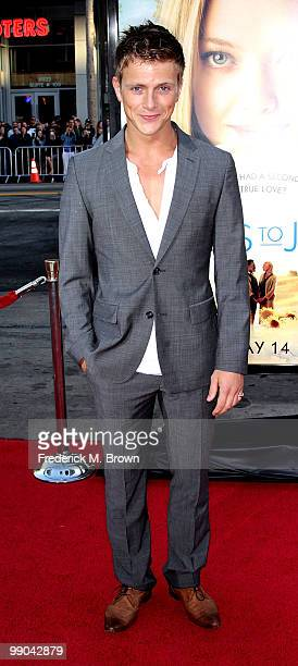 Actor Charlie Bewley attends the Letters to Juliet film premiere at Grauman's Chinese Theatre on May 11 2010 in Hollywood California