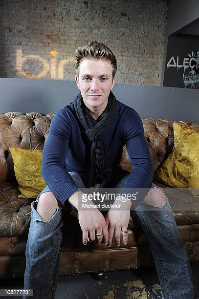 Actor Charlie Bewley attends the Like Crazy Press Junket at Bing Bar on January 23 2011 in Park City Utah