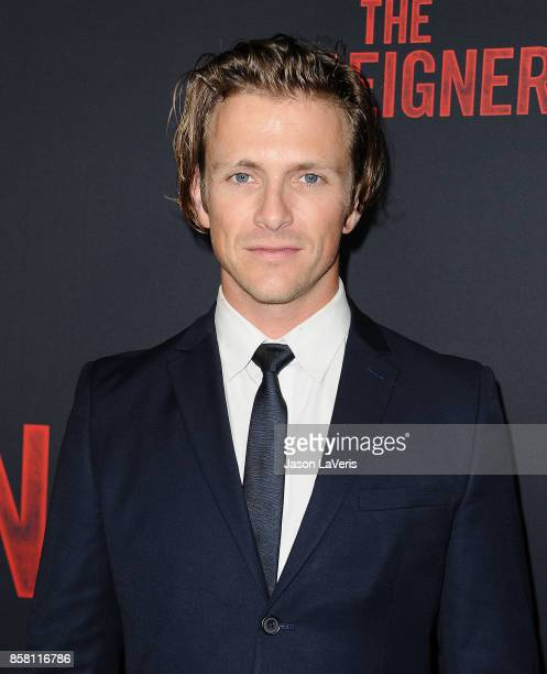 Actor Charlie Bewley attends the premiere of The Foreigner at ArcLight Hollywood on October 5 2017 in Hollywood California