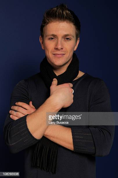 Actor Charlie Bewley poses for a portrait during the 2011 Sundance Film Festival at The Samsung Galaxy Tab Lift on January 23 2011 in Park City Utah