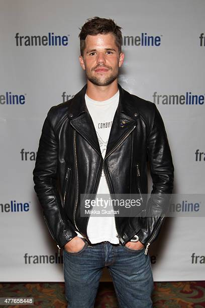 Actor Charlie Carver arrives at special screening of 'I am Michael' at Frameline39 Film Festival at Castro Theater on June 18 2015 in San Francisco...
