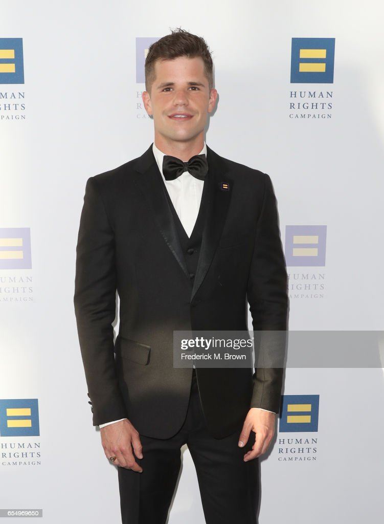 Actor Charlie Carver at The Human Rights Campaign 2017 Los Angeles Gala Dinner at JW Marriott Los Angeles at L.A. LIVE on March 18, 2017 in Los Angeles, California.