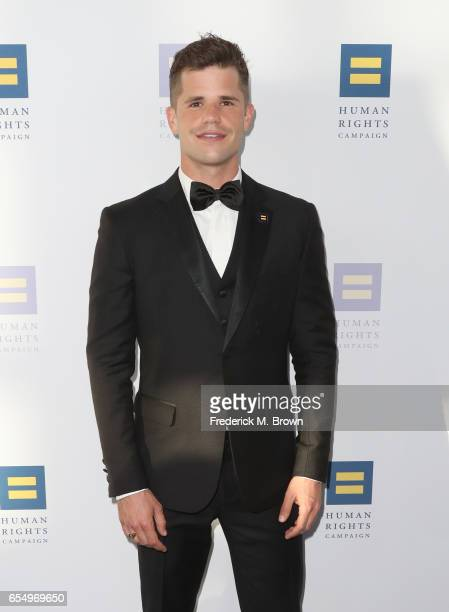 Actor Charlie Carver at The Human Rights Campaign 2017 Los Angeles Gala Dinner at JW Marriott Los Angeles at LA LIVE on March 18 2017 in Los Angeles...