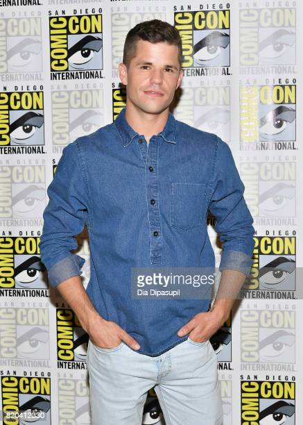 Actor Charlie Carver at the 'Teen Wolf' Press Line during ComicCon International 2017 at Hilton Bayfront on July 21 2017 in San Diego California