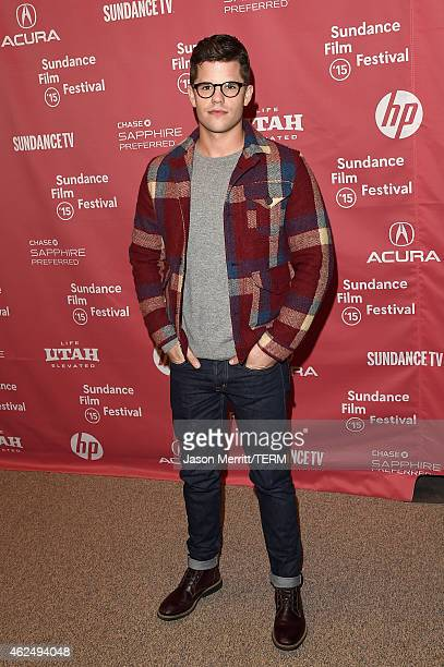 Actor Charlie Carver attends the 'I Am Michael' Premiere during the 2015 Sundance Film Festival on January 29 2015 in Park City Utah