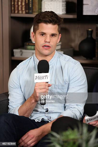 Actor Charlie Carver attends The Variety Studio At Sundance Presented By Dockers on January 25 2015 in Park City Utah