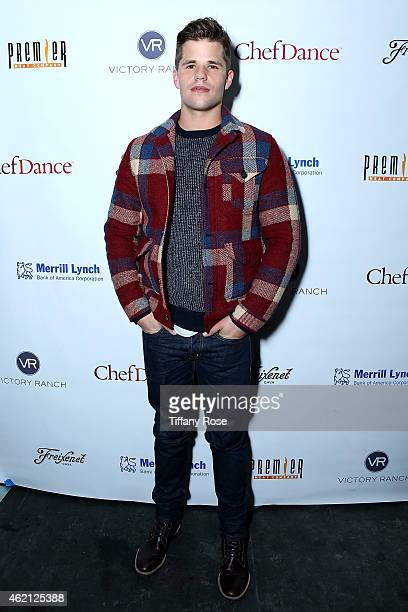 Actor Charlie Carver ChefDance 2015 Presented By Victory Ranch And Sponsored By Merrill Lynch Freixenet And Anchor Distilling at Sundance Film...