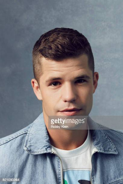 Actor Charlie Carver from MTV's 'Teen Wolf' poses for a portrait during Comic-Con 2017 at Hard Rock Hotel San Diego on July 20, 2017 in San Diego,...