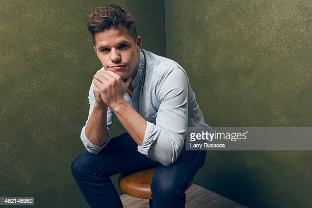 Actor Charlie Carver of 'I Am Michael' poses for a portrait at the Village at the Lift Presented by McDonald's McCafe during the 2015 Sundance Film...