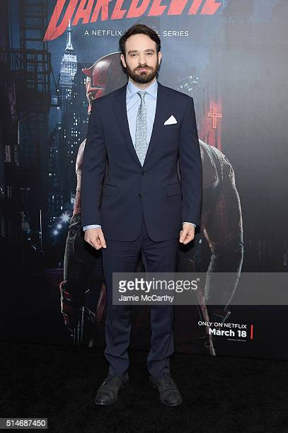 Actor Charlie Cox attends the Daredevil Season 2 Premiere at AMC Loews Lincoln Square 13 theater on March 10 2016 in New York City
