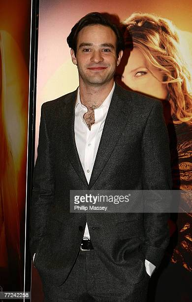 Actor Charlie Cox attends the premiere of Stardust at the Savoy Cinema on October 9 2007 in Dublin Ireland