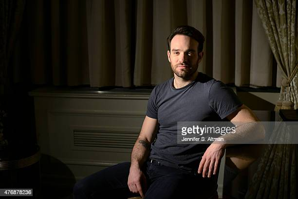 Actor Charlie Cox is photographed for Los Angeles Times on February 13 2015 in New York City