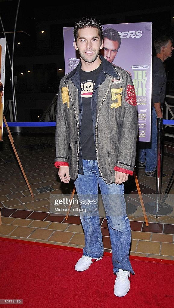 Actor Charlie David arrives at the premiere of the new movie 'Eating Out 2', held at Sunset 5 Theater on December 7, 2006, in West Hollywood, California.