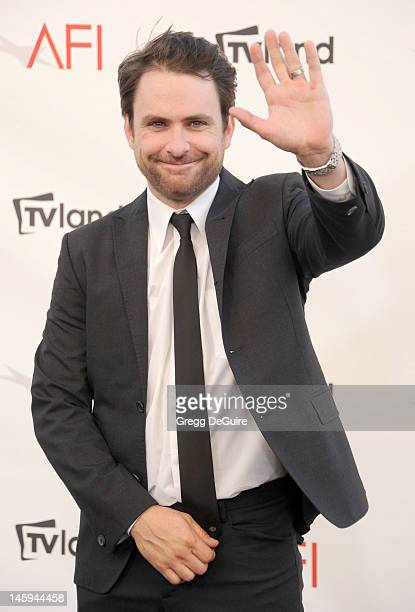 Actor Charlie Day Arrives At The 40th Afi Life Achievement Award Honoring Shirley Maclaine At Sony