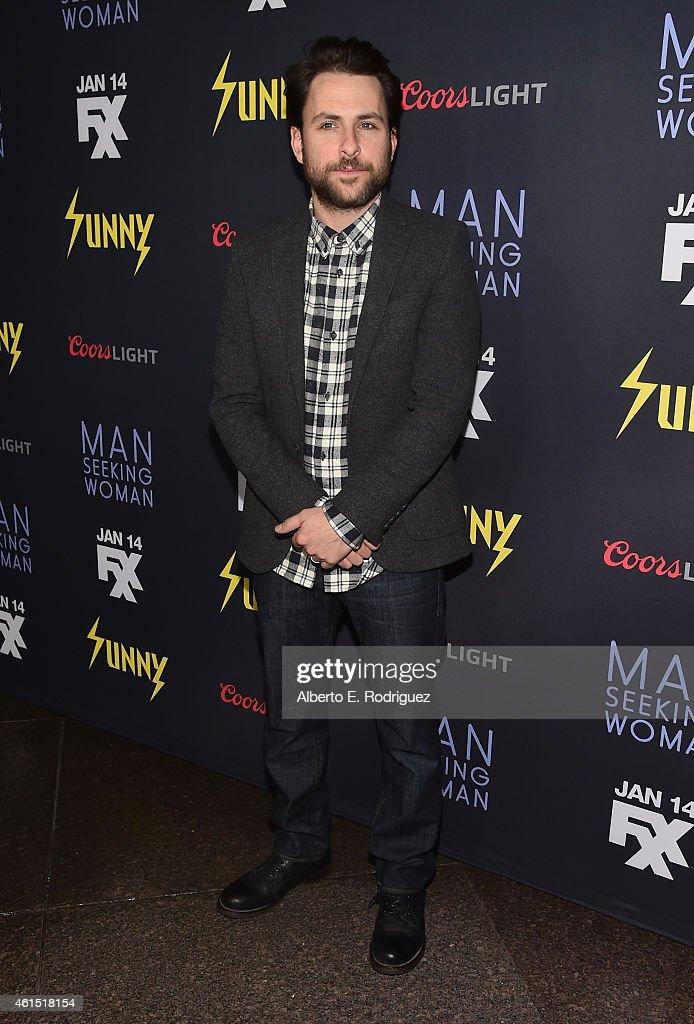 "Premiere Of FXX's ""It's Always Sunny in Philadelphia"" 10th Season And ""Man Seeking Woman"" - Red Carpet"