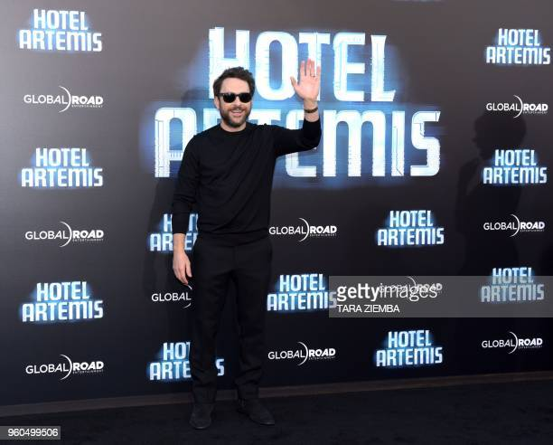 Actor Charlie Day attends the Los Angeles premiere of 'Hotel Artemis' on May 19, 2018 in Westwood Village, California.