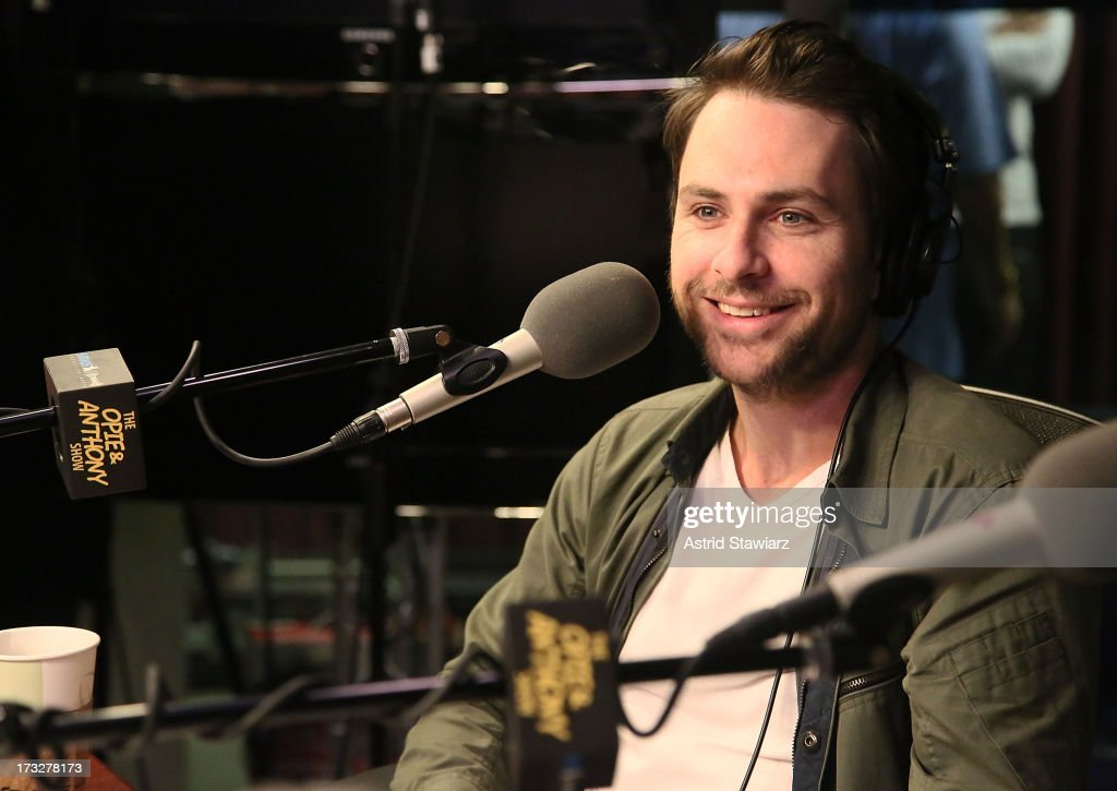 Actor Charlie Day visits 'The Opie & Anthony Show' at SiriusXM Studios on July 11, 2013 in New York City.