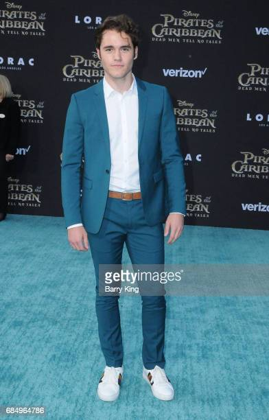 Actor Charlie Depew attends premeire of Disney's 'Pirates Of The Caribbean Dead Men Tell No Tales' at Dolby Theatre on May 18 2017 in Hollywood...