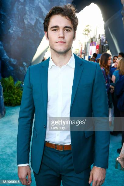 Actor Charlie Depew attends the premiere of Disney's 'Pirates Of The Caribbean Dead Men Tell No Tales' at Dolby Theatre on May 18 2017 in Hollywood...