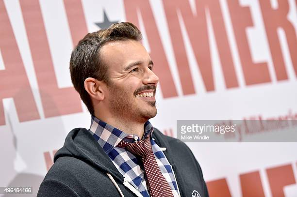 Actor Charlie Ebersol attends the premiere of Clarius Entertainment's My All American at The Grove on November 9 2015 in Los Angeles California