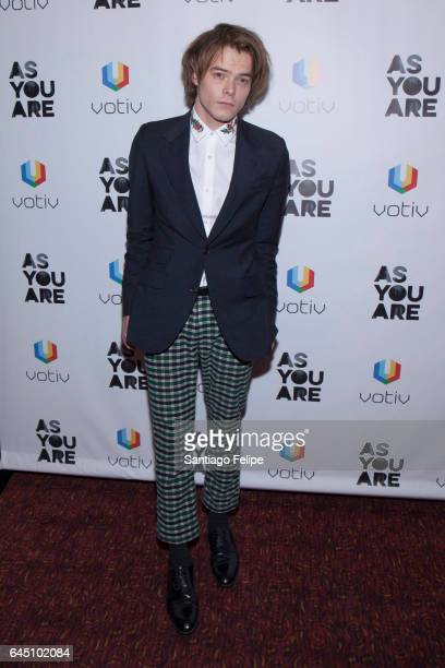 Actor Charlie Heaton attends 'As You Are' New York Premiere at Village East Cinema on February 24 2017 in New York City