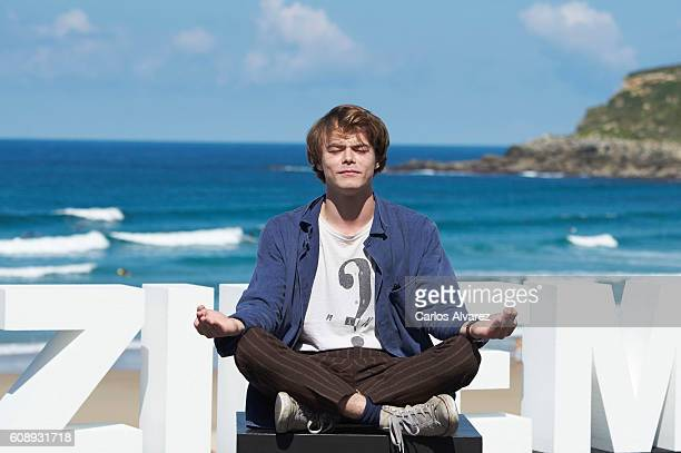 Actor Charlie Heaton attends 'As You Are' photocall during 64th San sebastian International Film Festival at Kursaal Palace on September 20 2016 in...