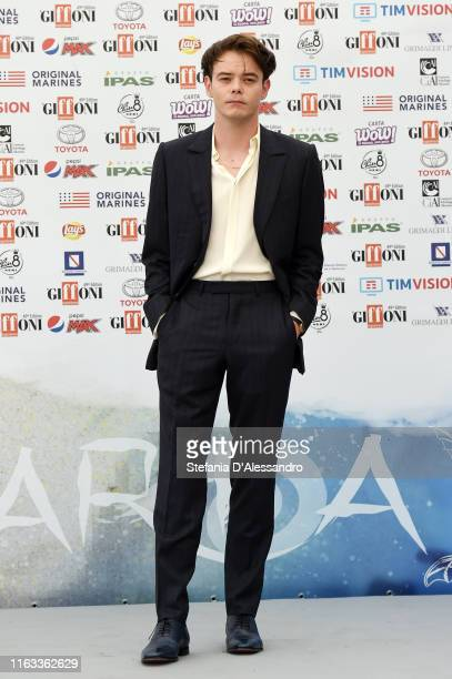 Actor Charlie Heaton attends Giffoni Film Festival 2019 on July 21, 2019 in Giffoni Valle Piana, Italy.