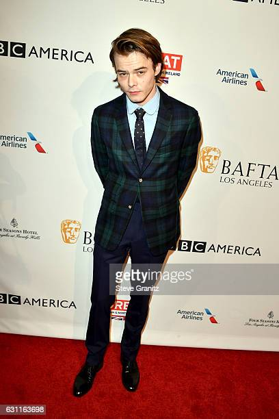 Actor Charlie Heaton attends The BAFTA Tea Party at Four Seasons Hotel Los Angeles at Beverly Hills on January 7 2017 in Los Angeles California