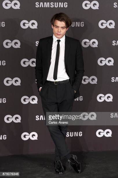 Actor Charlie Heaton attends the 'GQ Men of the Year' awards 2017 at the Palace Hotel on November 16 2017 in Madrid Spain