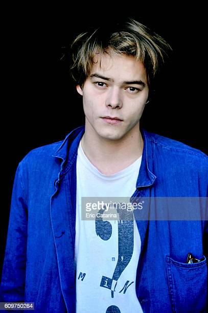Actor Charlie Heaton is photographed for Self Assignment on September 20 2016 in San Sebastian Spain