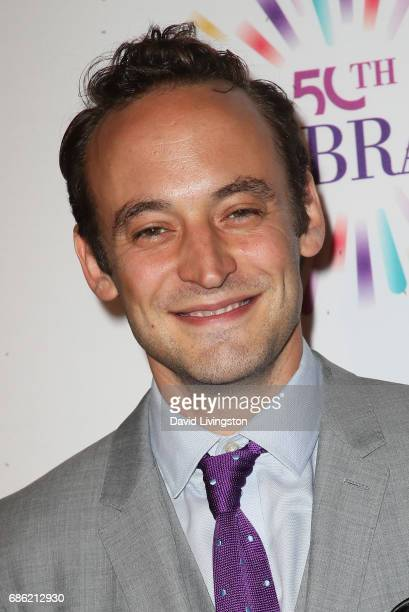 Actor Charlie Hofheimer attends the Center Theatre Group's 50th Anniversary Celebration at the Ahmanson Theatre on May 20 2017 in Los Angeles...